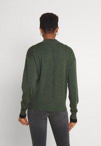 G-Star - CORE ZIP THRU - Vest - dark bronze green - 2