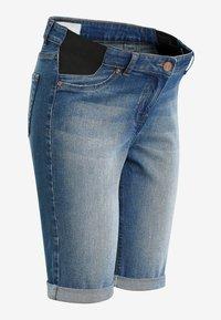 Next - Denim shorts - blue denim - 3