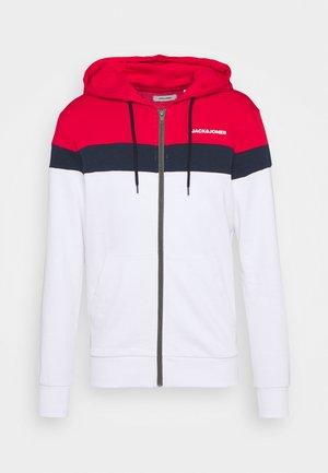 JJSHAKE ZIP HOOD - Zip-up hoodie - white