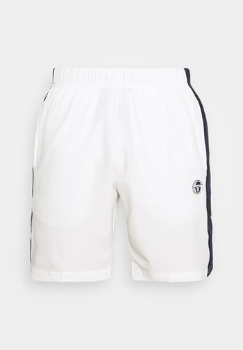 TENNIS YOUNGLINE SHORTS - Sports shorts - blanc de blanc/night sky