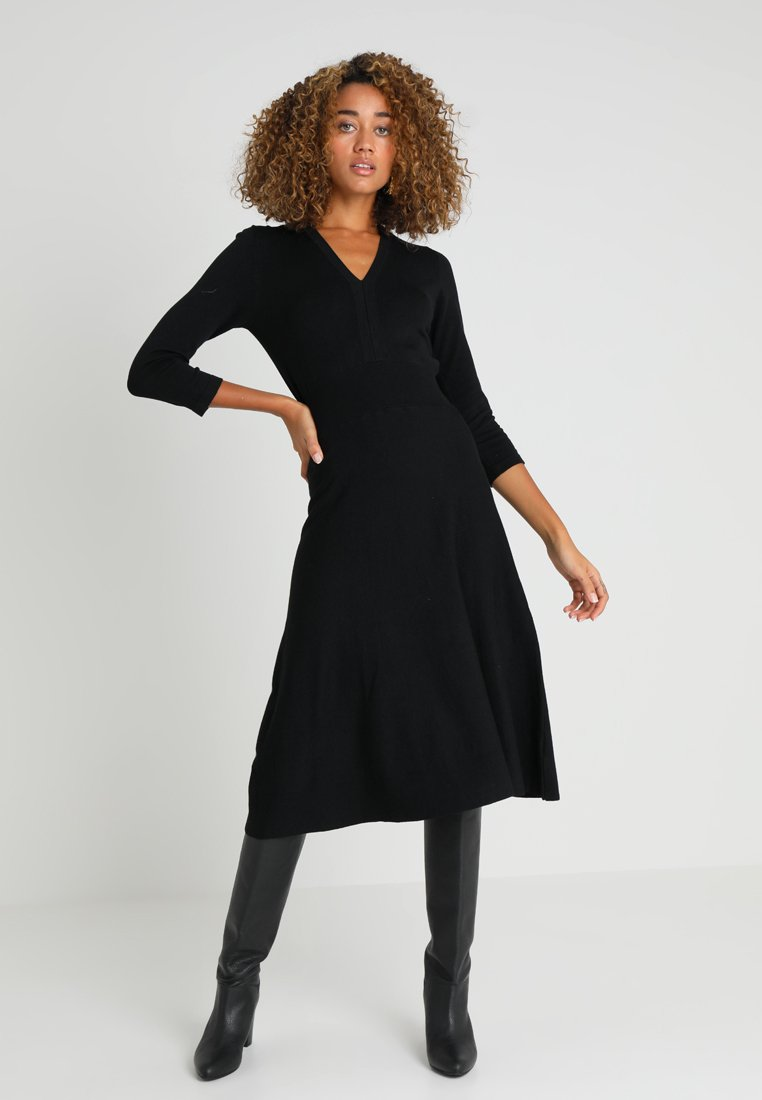 Noa Noa - ESSENTIAL - Jumper dress - black