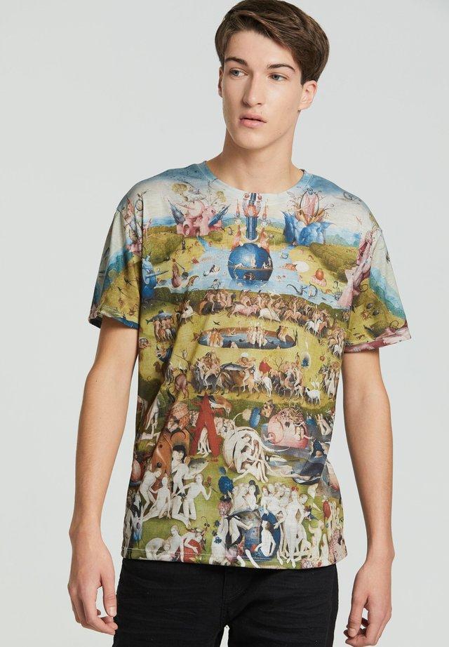 GARDEN  - T-shirt print - green