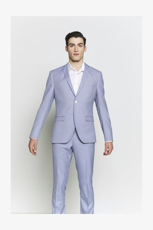 BIRDSEYE SUIT - Costume - blue