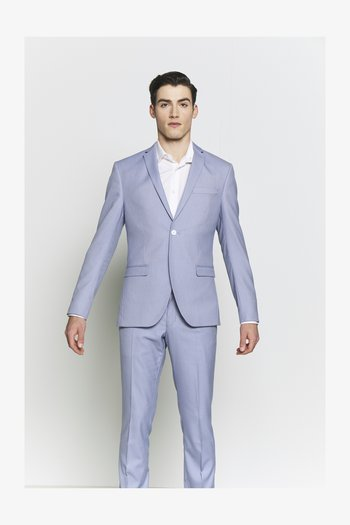 BIRDSEYE SUIT - Kostym - blue