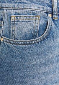 Simply Be - SPLIT HEM  - Straight leg jeans - stone blue denim - 2