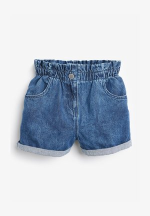 PAPERBAG - Denim shorts - blue denim