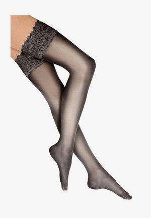 TOUCH - Over-the-knee socks - black