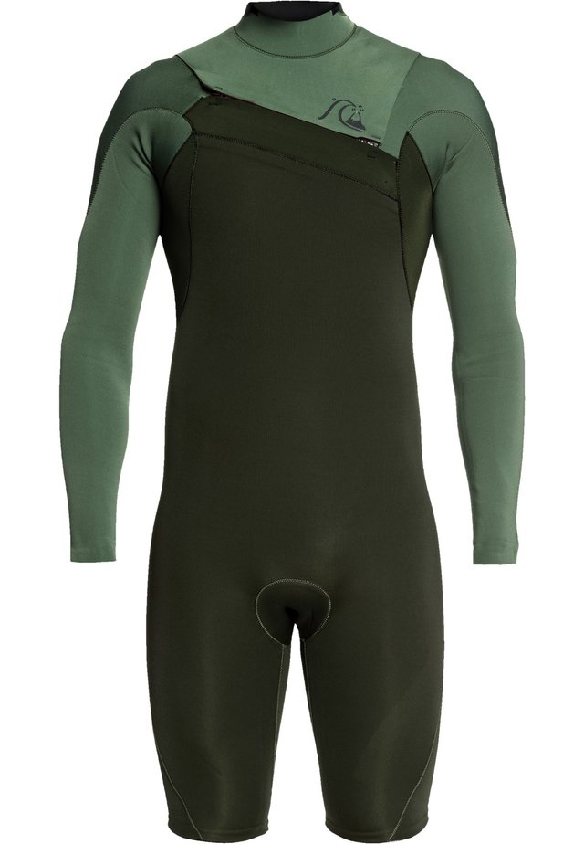 QUIKSILVER™ 2/2MM HIGHLINE LIMITED - LANGÄRMELIGER CHEST ZIP SPR - Wetsuit - dark ivy/ shade olive