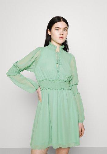 Day dress - aqua green