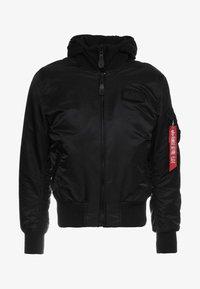 TEC BACKPRINT EXCLUSIV - Bomber Jacket - black