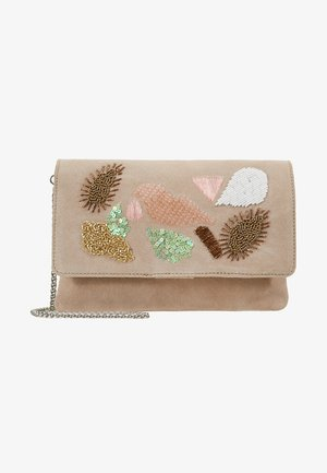 LEATHER - Clutch - multicolor