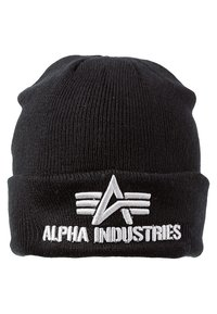 Alpha Industries - 3D BEANIE - Mössa - schwarz - 2