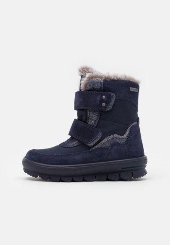 FLAVIA - Snowboots  - blau