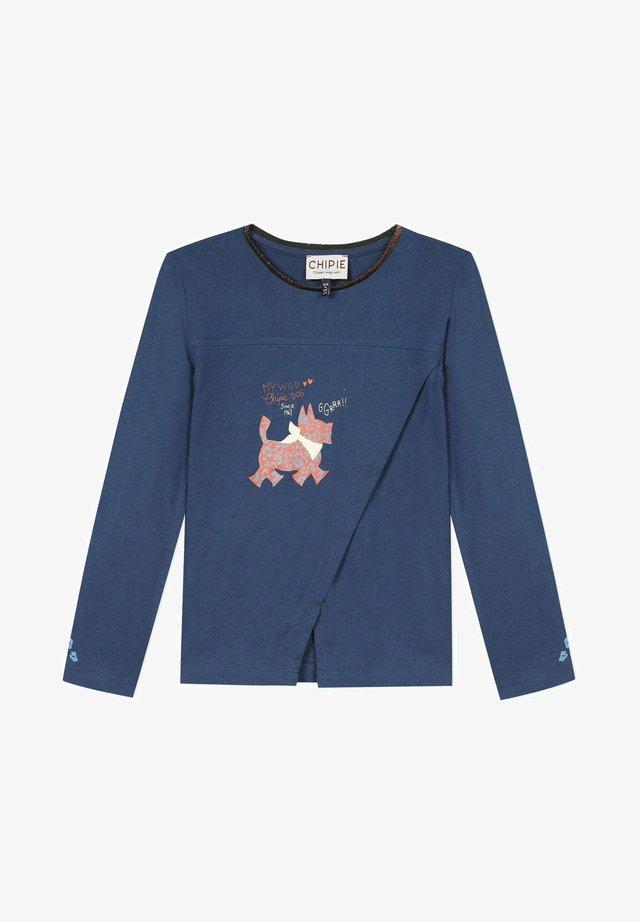 Pitkähihainen paita - indigo