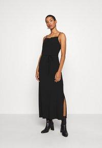 Calvin Klein - CAMI DRESS - Maxi šaty - black - 0