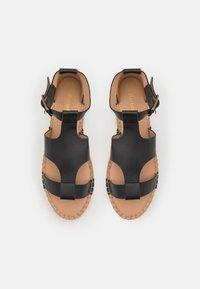 Barbour - LUCILLE - Platform sandals - black - 3
