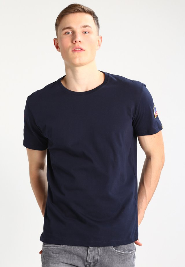NASA T  - Print T-shirt - replica blue