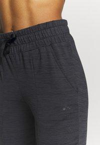 ONLY Play - ONPORLANA PANTS - Pantalones deportivos - black melange - 3