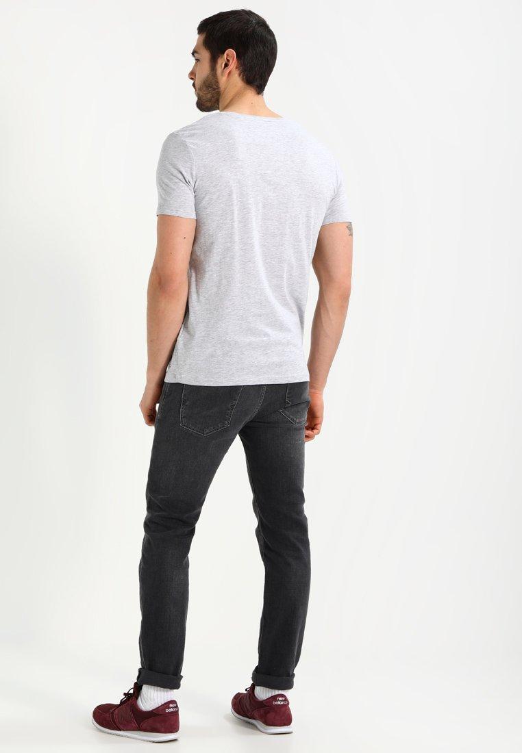 Tiffosi BASIL - Basic T-shirt - grey PAknV