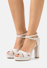 Anna Field - Højhælede sandaletter / Højhælede sandaler - offwhite - 0