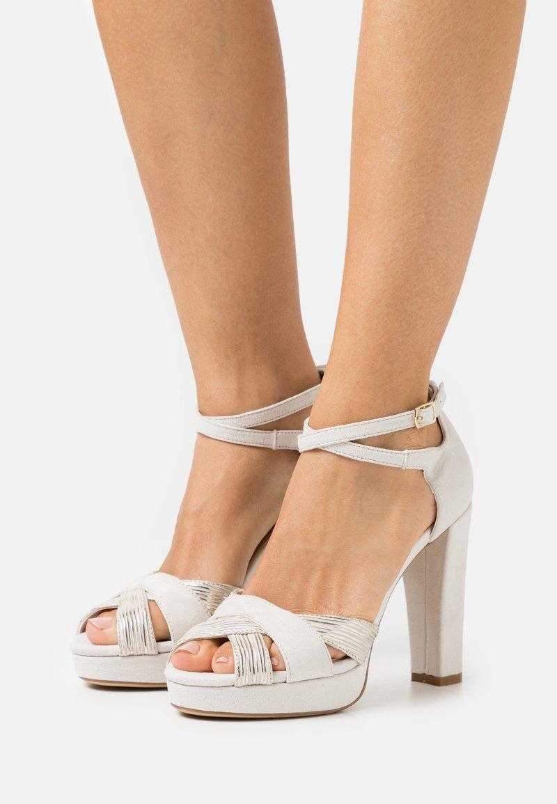 Anna Field - Højhælede sandaletter / Højhælede sandaler - offwhite