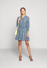Rebecca Minkoff - DRESS - Shirt dress - blue/multi - 1
