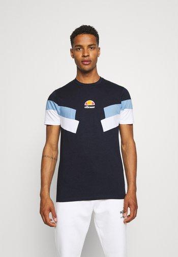 VALLONE TEE - T-shirt imprimé - navy