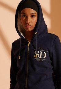 Superdry - Zip-up hoodie - nautical navy - 1