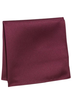 Pocket square - red
