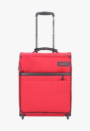 STRATIC LIGHT  - Wheeled suitcase - red