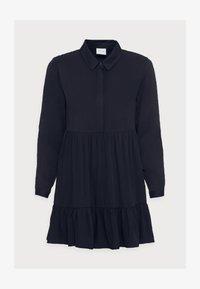 VILA PETITE - VIMOROSE SHIRT DRESS - Vestido camisero - navy blazer - 4