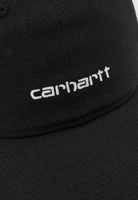 Carhartt WIP - SCRIPT UNISEX - Cap - black/white - 3