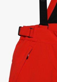 Killtec - GAUROR UNISEX - Zimní kalhoty - dunkelorange - 4