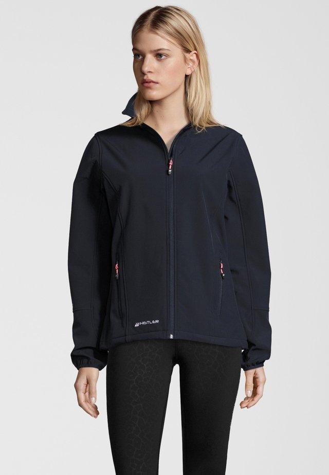 MIT WASSERDICHTER ZWISCHENMEMBRAN - Soft shell jacket - navy