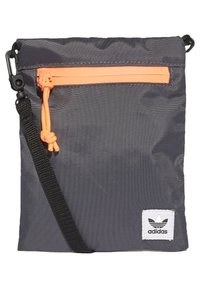 adidas Originals - SIMPLE POUCH - Across body bag - grey - 0