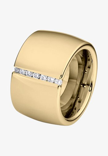DAMENRING LINES - Ring - gold-coloured
