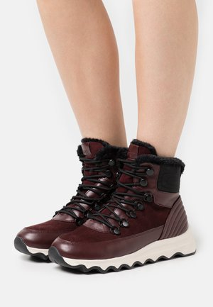 PALERMO LACE  - Lace-up ankle boots - bordeaux red
