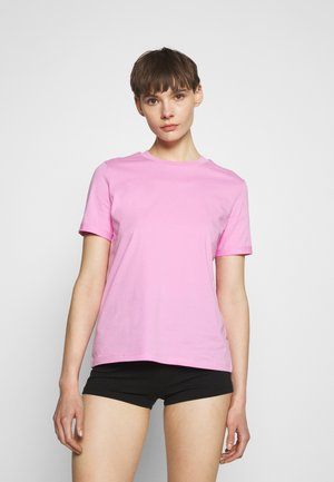 PCRIA FOLD UP SOLID TEE - T-shirts - lilac chiffon cp