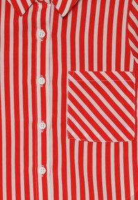 LMTD - NLFKAYA - Button-down blouse - poppy red/white - 4