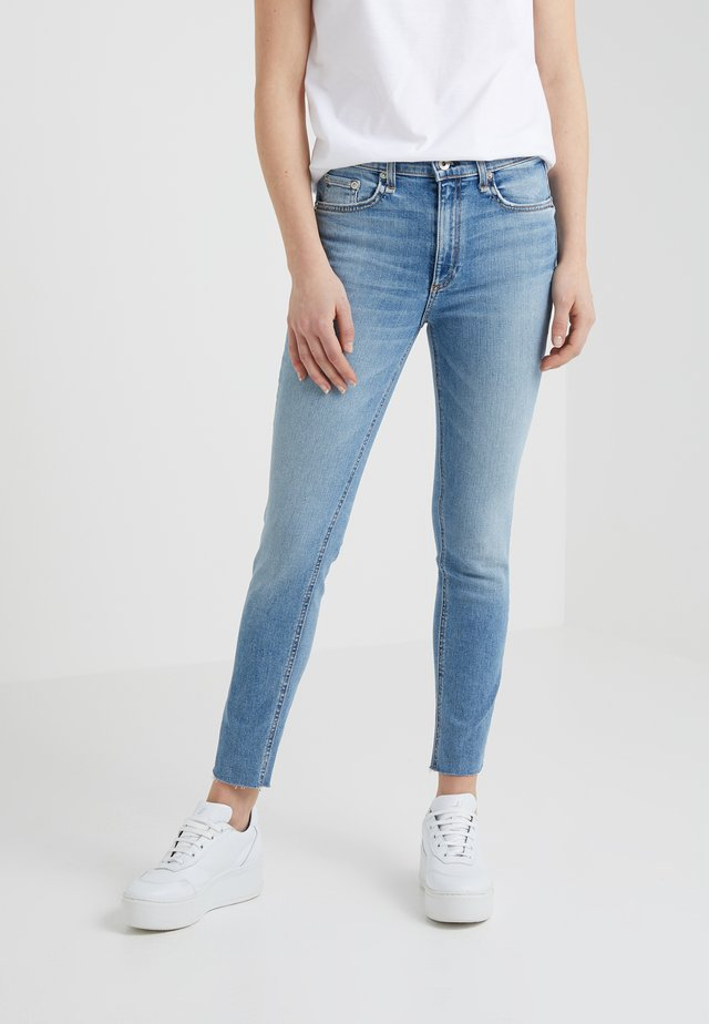 HIGHRISE ANKLE - Jeans Skinny - ellerly