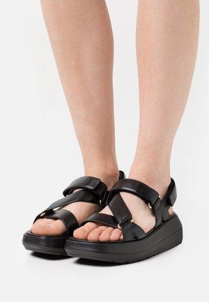 MOXIE SPORT - Platform sandals - black
