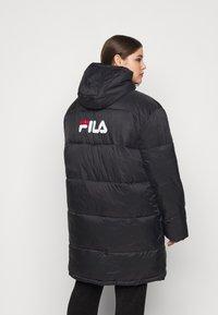 Fila Plus - BRONWEN PUFF HOOD JACKET - Talvitakki - black - 2