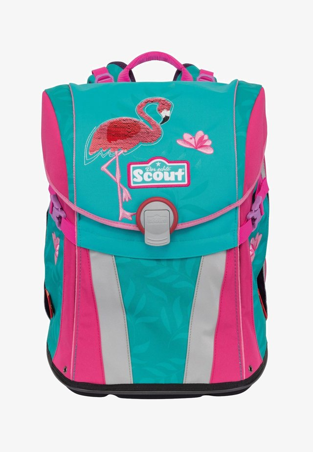 SUNNY SET 4-TEILIG - School set - glitter flamingo