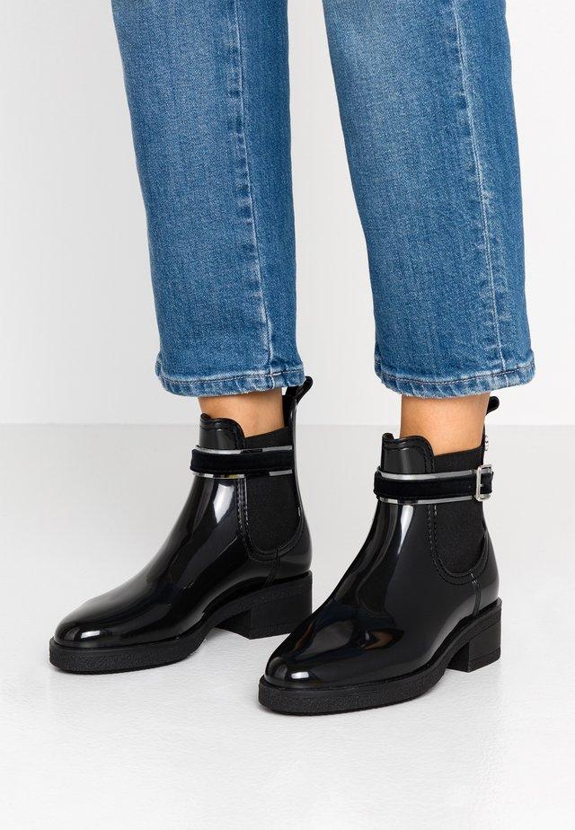 LUZ - Bottes en caoutchouc - black