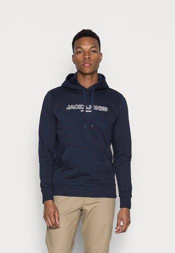 JJBANK - Hoodie - navy blazer
