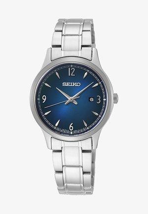 Uhr - silver-coloured