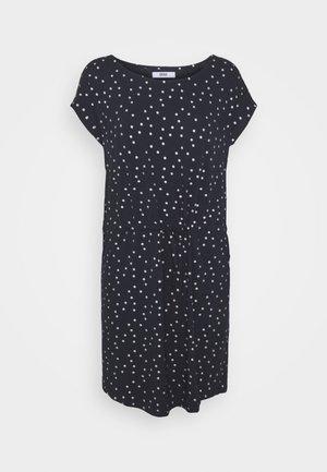 ONLMILLIE BELT DRESS - Robe en jersey - night sky/silver