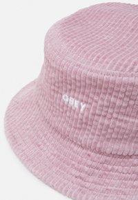 Obey Clothing - BOLD BUCKET HAT UNISEX - Hatt - dusty rose - 3