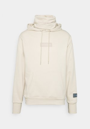 LIMITED EDITION HOODIE WITH SNOOD - Sweat à capuche - beige