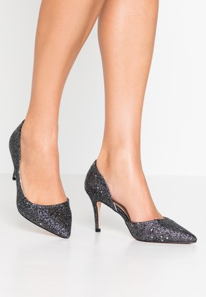 WIDE FIT WINNER - Højhælede pumps - black
